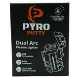Pyro Putty Dual Arc Rechargeable Lighter by Pyro Putty | Camping - goHUNT Shop