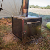 Seek Outside Titanium Wood Stove - Medium by Seek Outside | Camping - goHUNT Shop