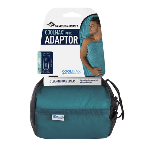 Sea to Summit Adaptor Coolmax Sleeping Bag Liner by Sea to Summit | Camping - goHUNT Shop