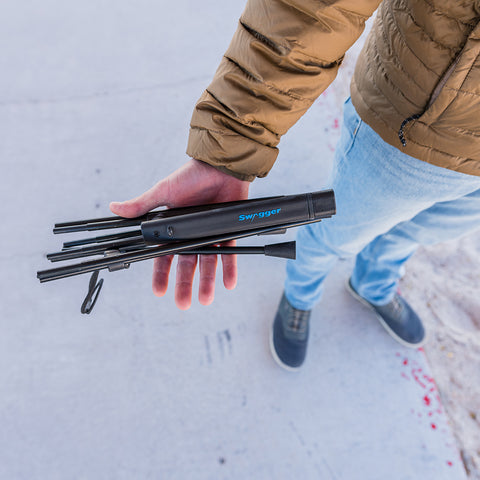 Swagger Stalker Lite Shooting Sticks by goHUNT Shop | Gear - goHUNT Shop