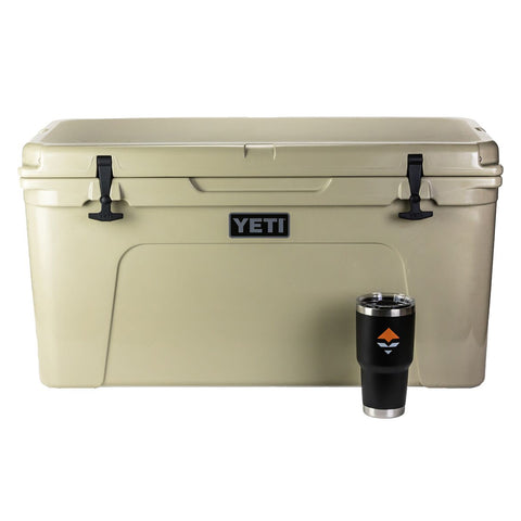 YETI Tundra 65 Cooler & Free goHUNT Rambler (New Lower Price)