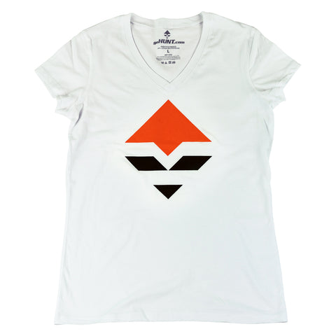 goHUNT Women's V-Neck T-Shirt by goHUNT | Apparel - goHUNT Shop