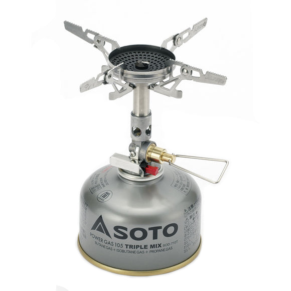 Soto WindMaster with Micro Regulator and 4Flex by Soto | Camping - goHUNT Shop