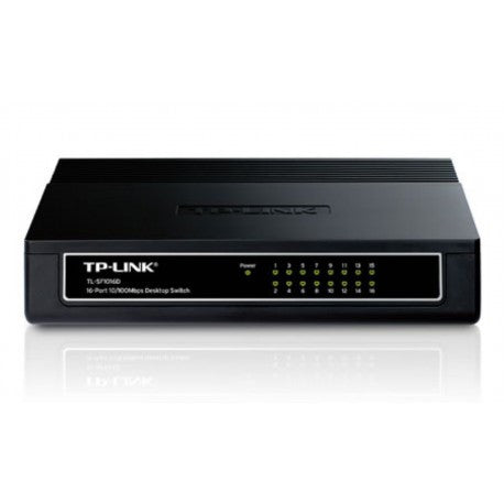 TP-LINK TL-SF1016D Switch Desktop 10/100Mbps 16-Porte