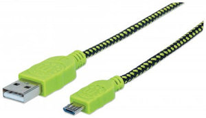 Cable pop Manhattan - Cavo Micro USB 0.5 m