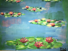 Monet's waterlilies 2
