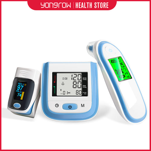 Blood Pressure Monitor, Ear Infrared Thermometer ' Pulse Oximeter