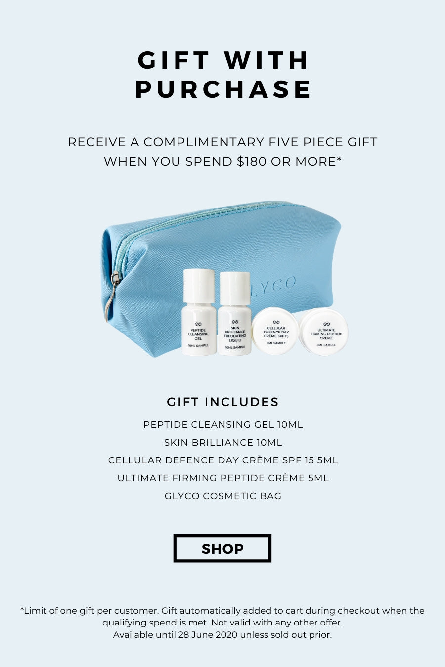 Glyco gift with purchase