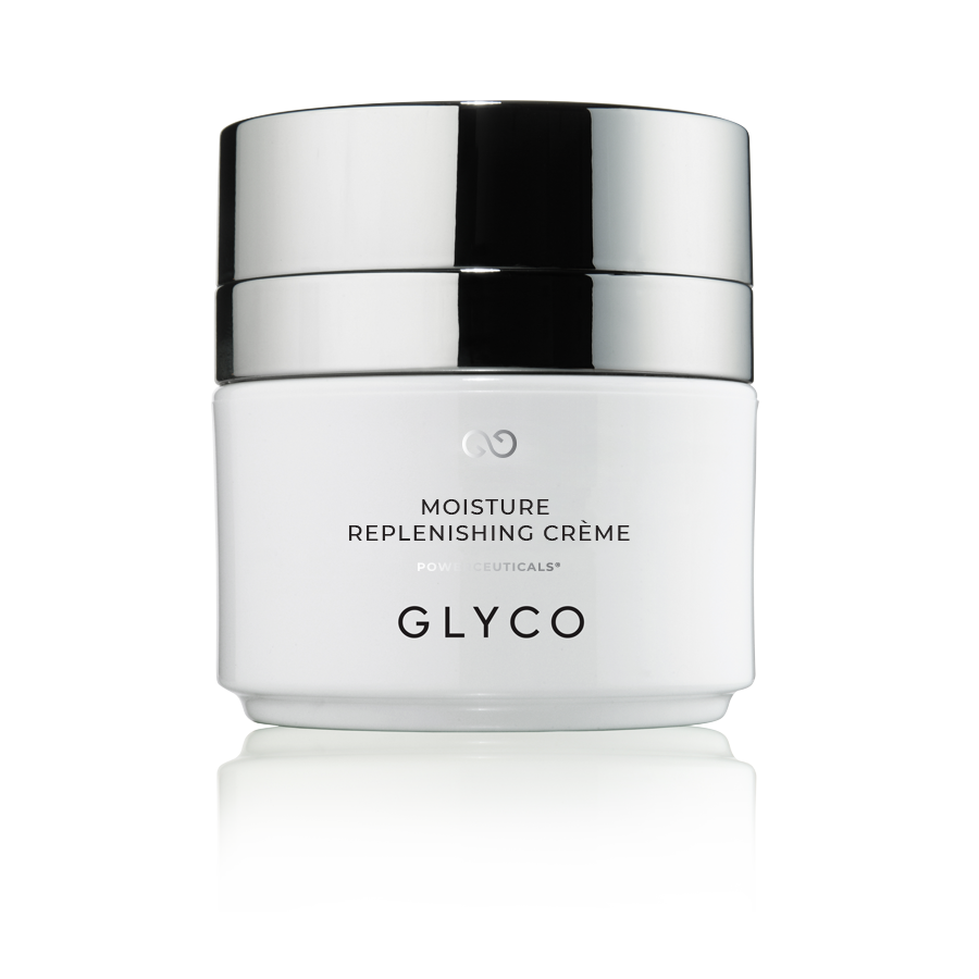 Glyco Skincare Moisture Replenishing Crème, Hydrating Cream for Dry, Sensitive Skin