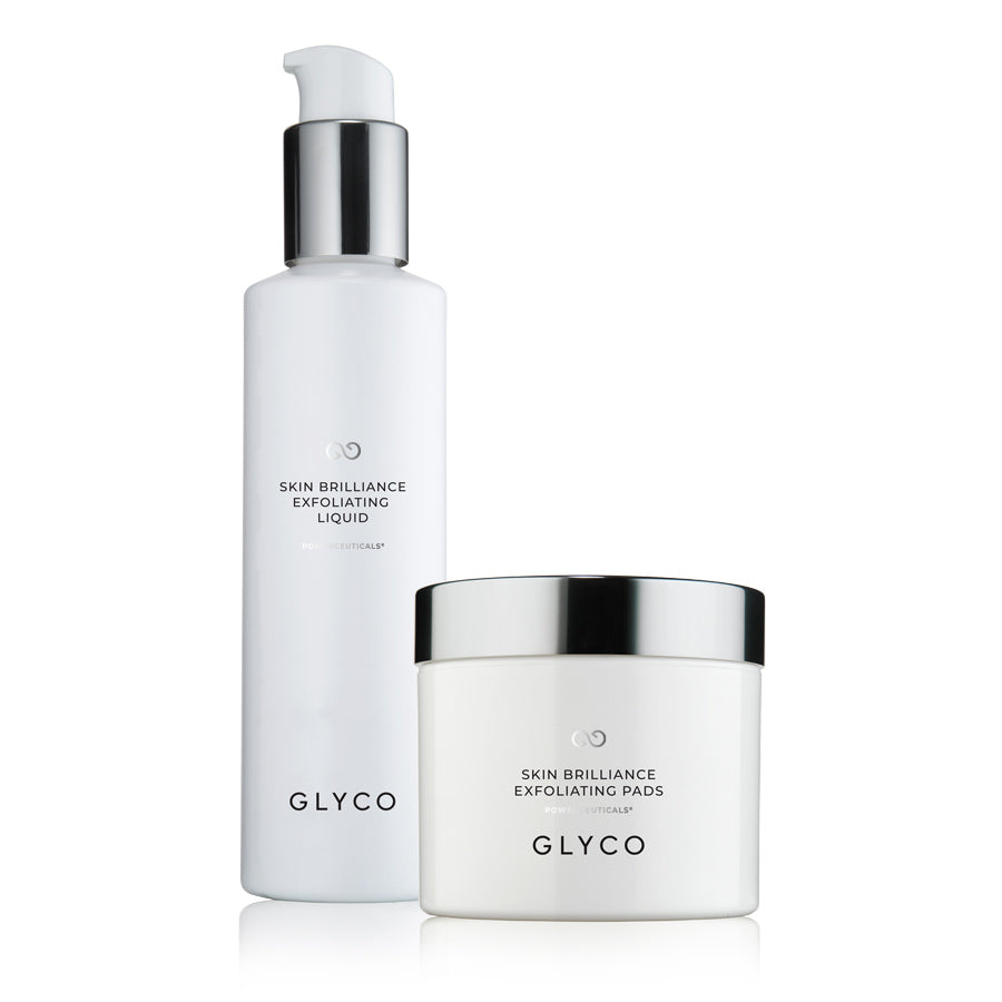 Glyco Skincare Skin Brilliance AHA/BHA Exfoliator with Glycolic and Salicylic Acids