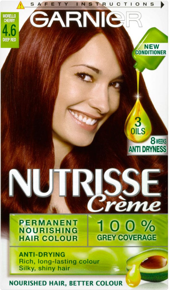 Garnier Nutrisse Crme Permanent Nourishing Hair Colour Morello