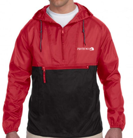 Red/Black Windbreaker