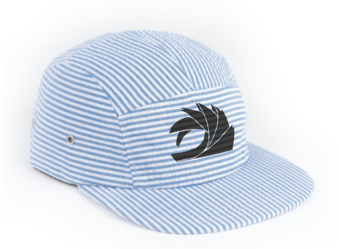 Blue Stripe 5-Panel Hat