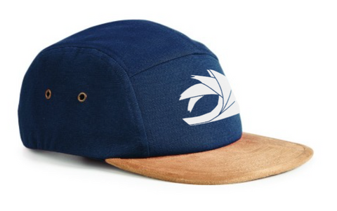 Navy/Suede 5-Panel