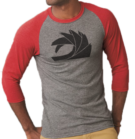 Red/Gray LS Shirt