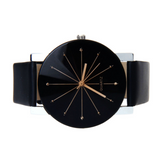 Black Quartz Luxury Watch