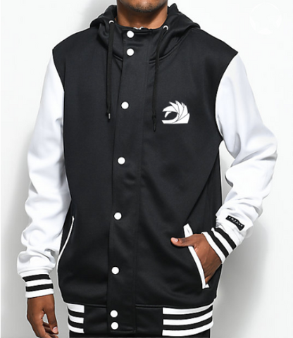 Black/White Varsity Jacket