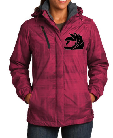 Pink Women's Winter Jacket