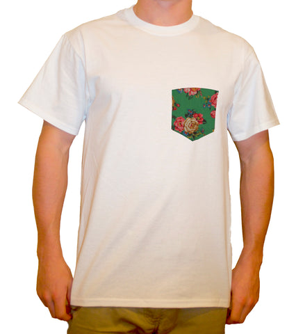 Roses Pocket T-Shirt