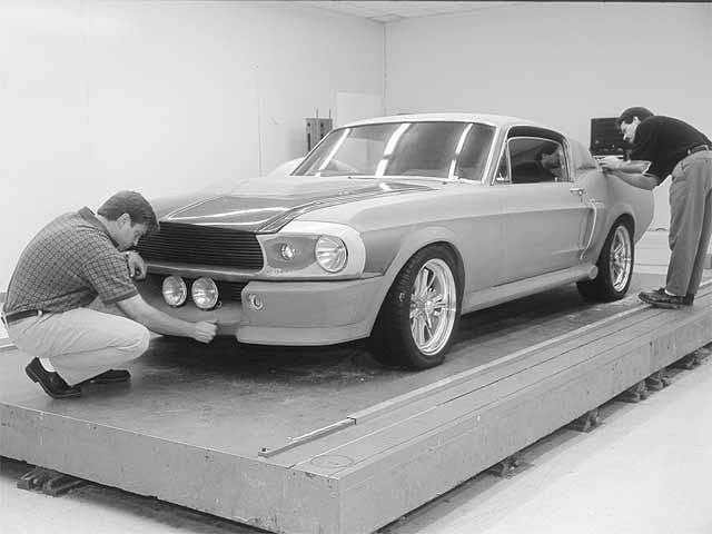 Chip Foose making Shelby GT500 Eleanor's for the Movie