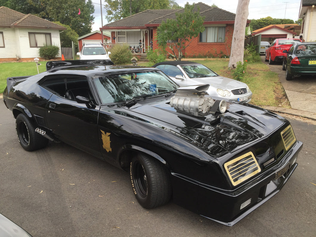 ford falcon xb mad max interceptor sydney eleanor hire. Black Bedroom Furniture Sets. Home Design Ideas