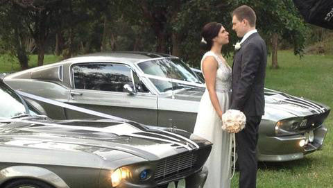 Shelby GT500 Eleanor Wedding Cars