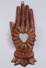 Hand with Heart Ornament