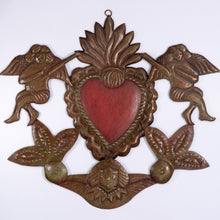 Heart with Angels Ornament