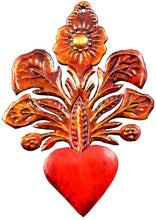 Heart with Flowers Ornament