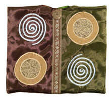 Satin Spirals Purse