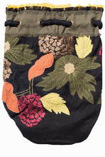 Canvas Bucket Backpack Purse