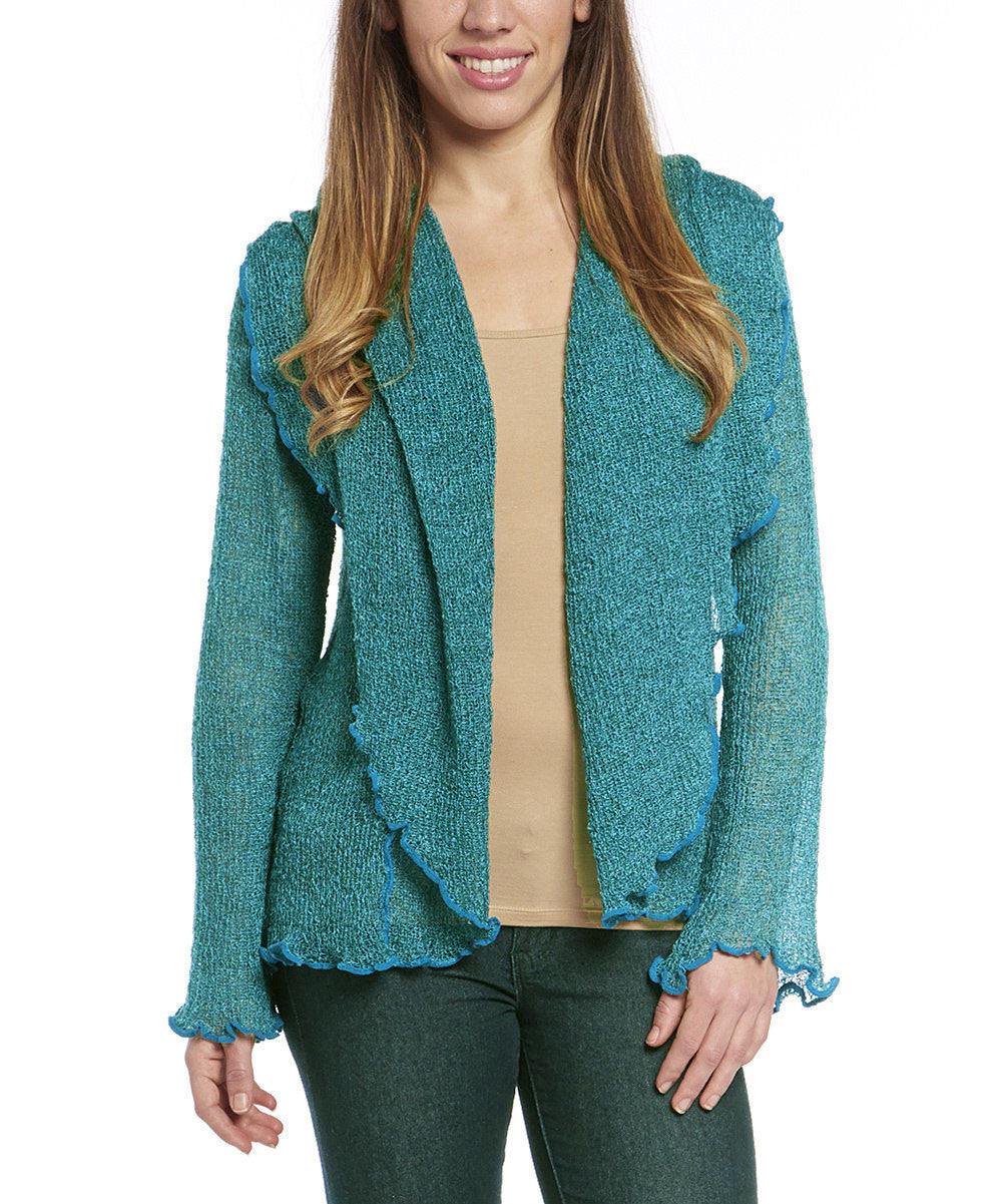 Tissue Knit Cardigan