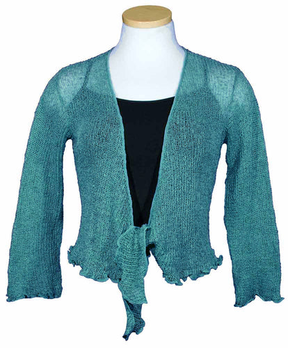Tissue Knit Shrug
