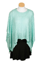 Soft Net Square Poncho
