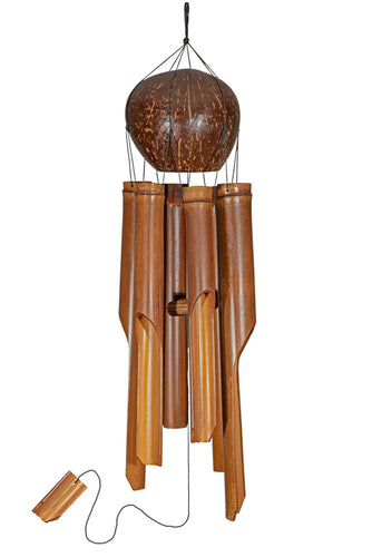 Coconut Wind Chimes (whole)