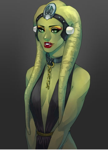 or maybe a Twi'lek...