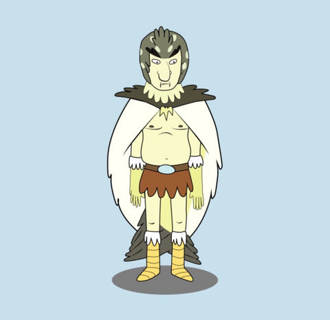 bird person rick and morty lemuria mu atlantis