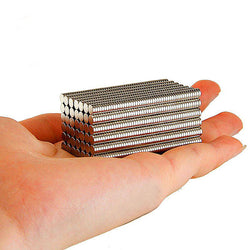 100 Small Neodymium Fridge Magnets Super Strong Rare Earth N35 Refrigerator Gadget Tools