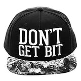 The Walking Dead Don't Get Bit Snapback Cap Hat on AMC