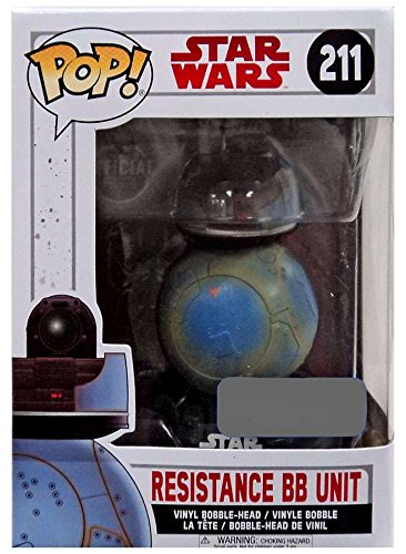 Funko Pop! Star Wars: The Last Jedi Resistance BB Unit (211)
