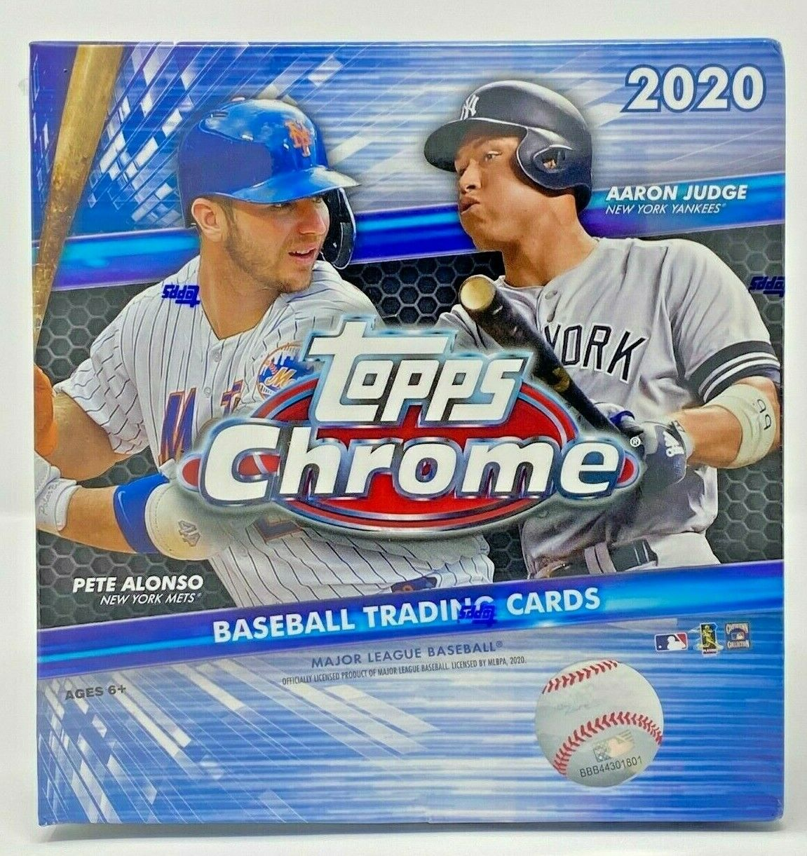2020 Topps Chrome Baseball Sealed Box - Hobby Mega Blaster Value Cello Packs