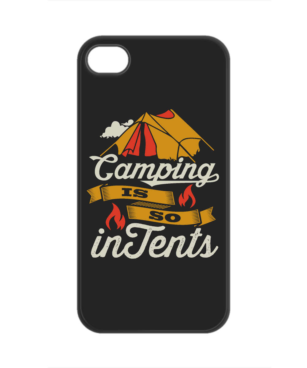 Camping is so In Tents (Intense) Phone Case
