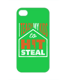 I Teach My Kids To Hit and Steal Baseball Softball Phone Case