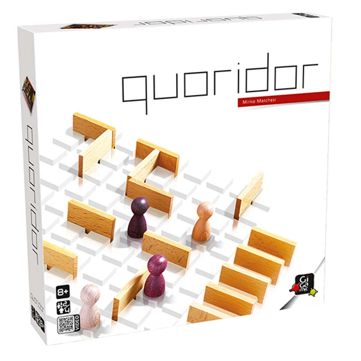 Gigamic QUORIDOR  GCQO Board Game