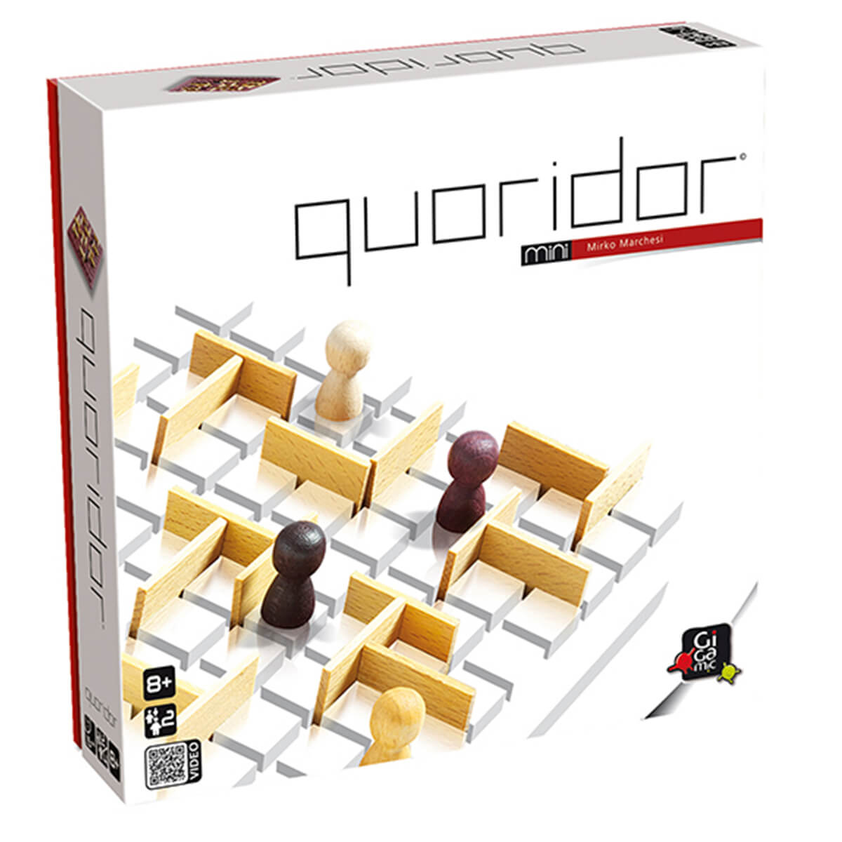 Gigamic Quoridor mini GDQO Board Game