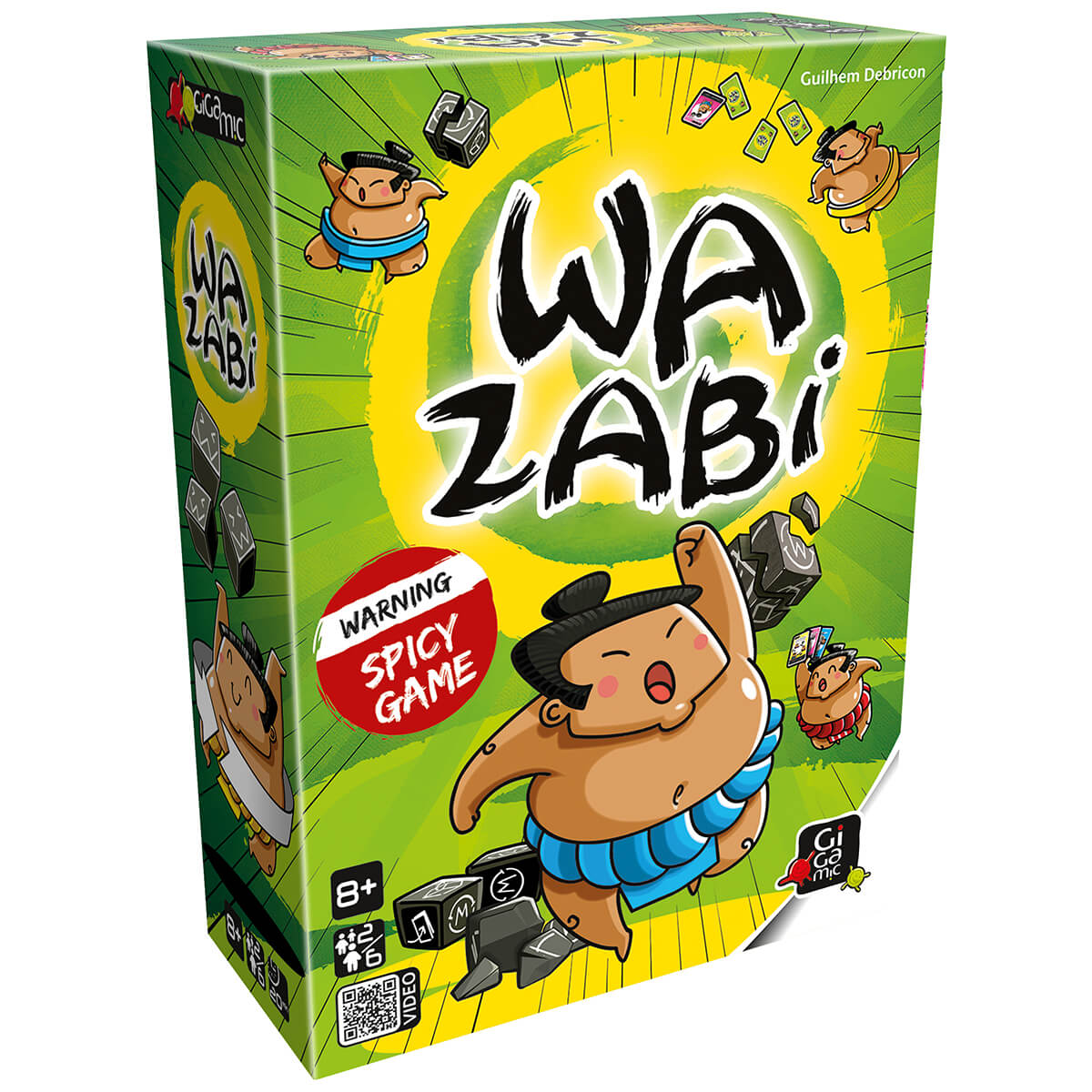 Gigamic Wazabi GFUW Board Game