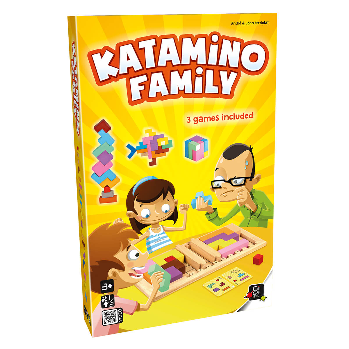 Gigamic Katamino Family GZUF Board Game