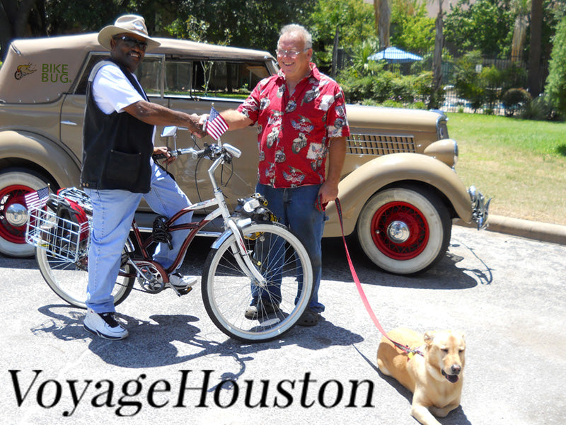 Voyage Houston Article About Our Founder