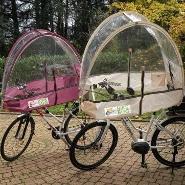 See-through Rain Shield/Cover for Bicycles