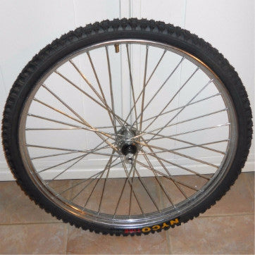 Heavy Duty Industrial Front Bicycle Wheel